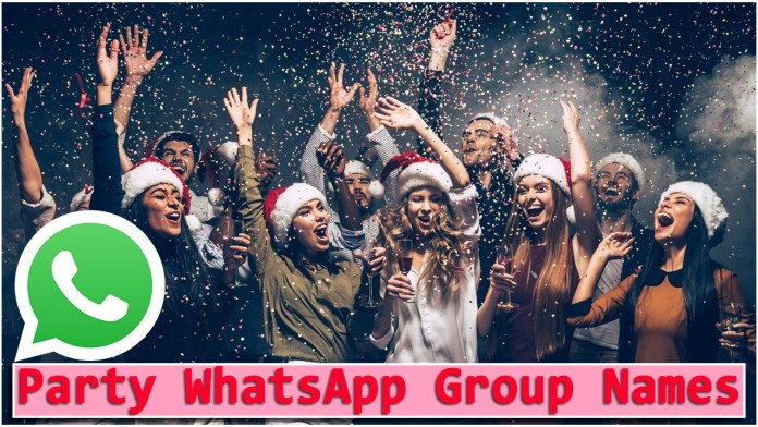 Party WhatsApp Group Names