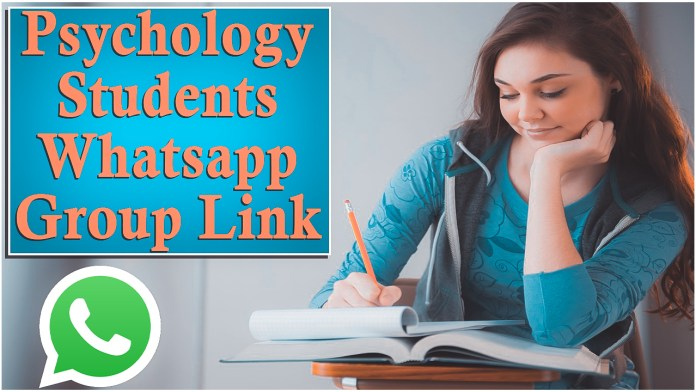 psychology students Whatsapp Group Link