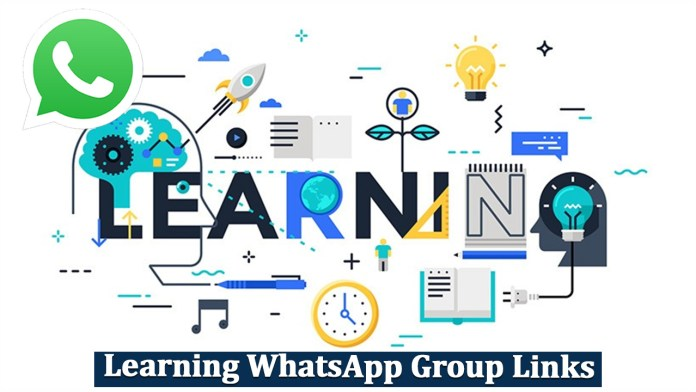 Learning WhatsApp Group Links