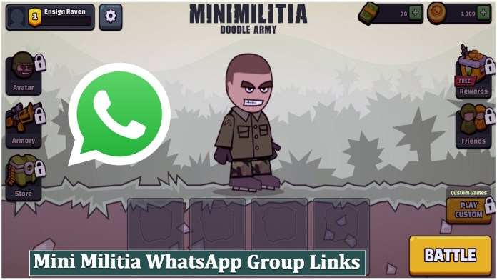 Mini Militia WhatsApp Group Links