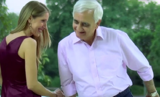 salman Khurshid New Video pictures by German Embassy