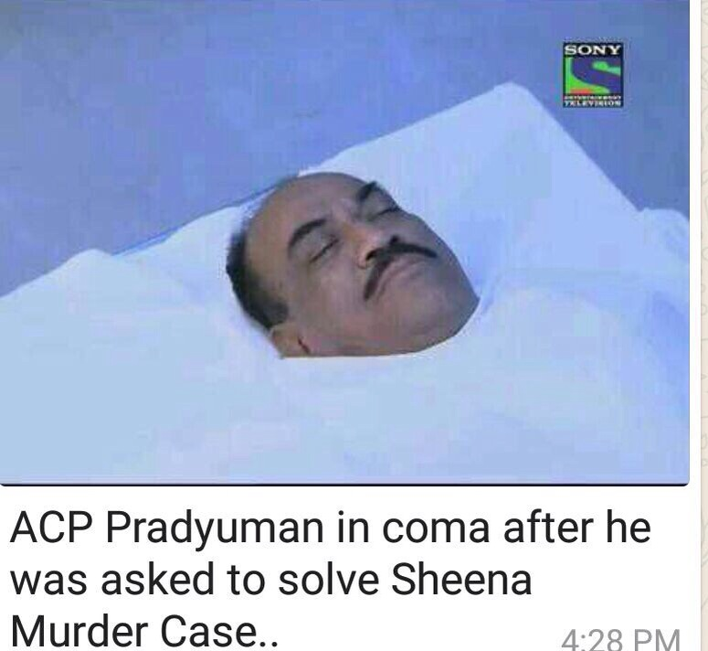 ACP Pradyuman in coma after asked to solve Sheena Murder case !!!
