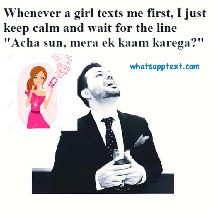 Hindi Jokes- Boys vs Girls Chatting Jokes