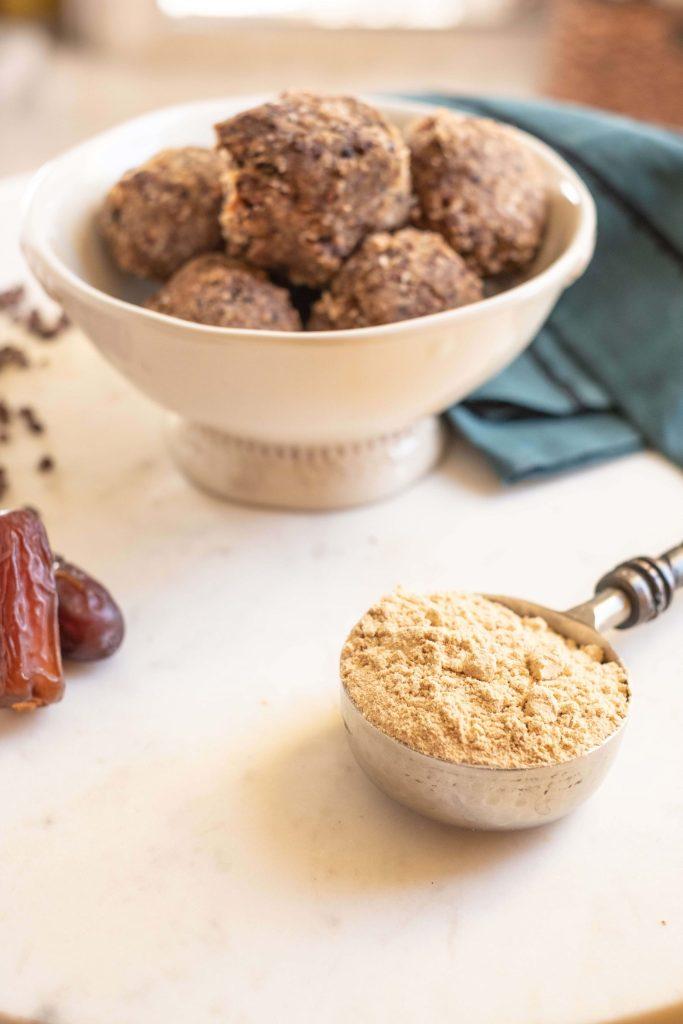 Tropeaka Salted Caramel Protein Review + A Recipe #whatsavvysaid #veganprotein #veganglutenfree #tropeaka #tropeakaprotein #leanprotein #saltedcaramel
