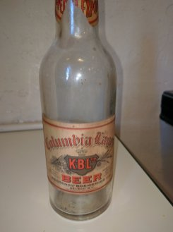 Old Kootenay Breweries bottle