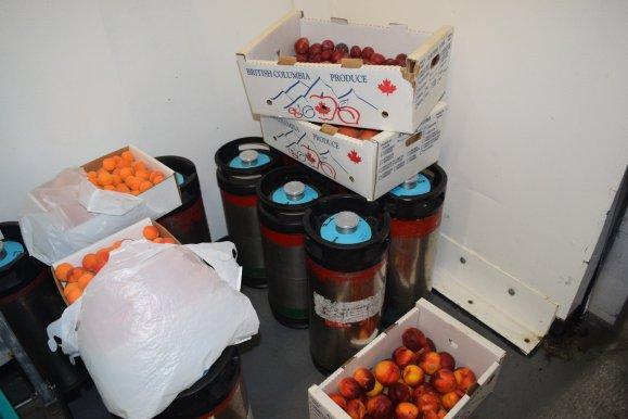 Fruit for GCBF cask ale