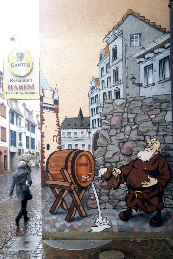 Mural in Freiburg