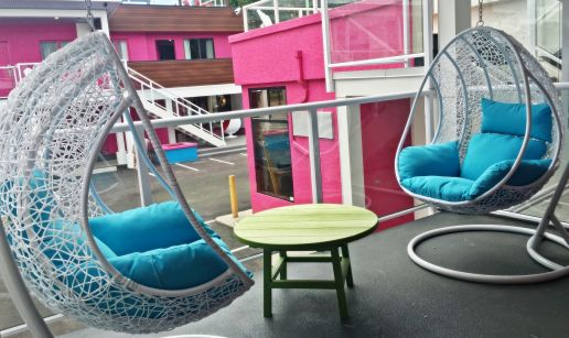 Swing Chairs at Hotel Zed-1