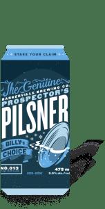 Barkerville Brewing - Prospector's Pilsner Image