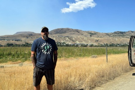 Ian Matthews at Big Horn Hops