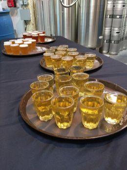 Barrels And Behind The Scenes Beer Samples