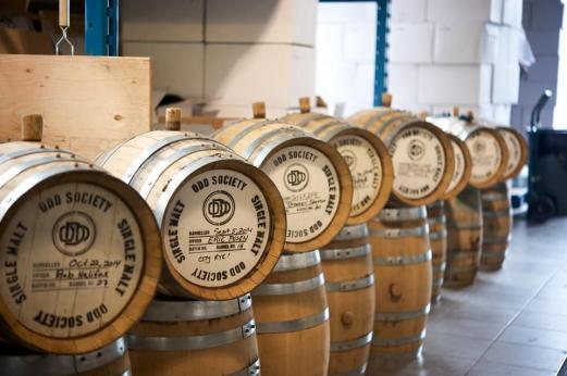 Barrels And Behind The Scenes Odd Society Spirits Barrels