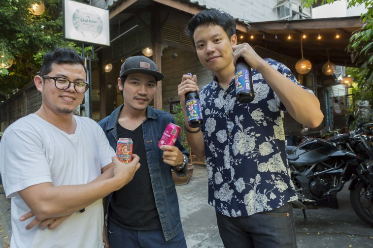 Phillips, Postmark And P49 At Dok Kaew House Bar