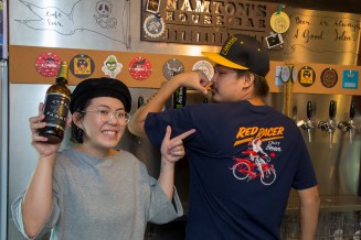 Namton and Em are rockin' Central City style at their Southeast Asian craft beer bar