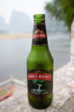 James Boag's Tasmanian Lager - Yangshou, China 2009