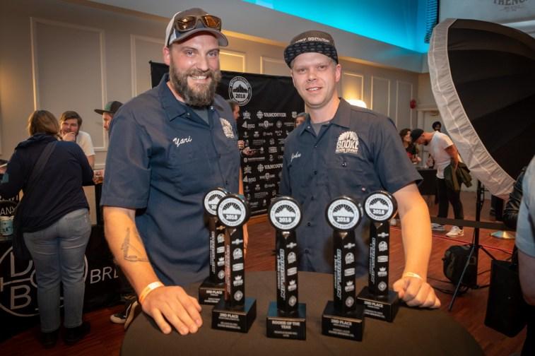 Sooke Brewing: six awards!