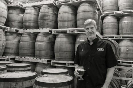 Gary Lohin at Central City Brewing