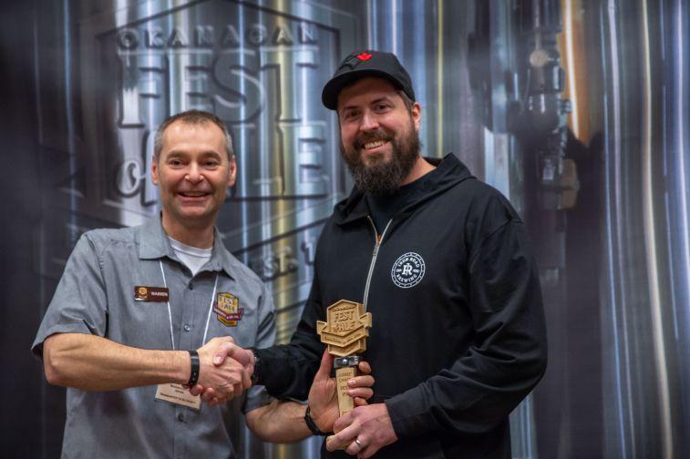 Judges Choice Best IPA Loop Line IPA – Iron Road Brewing, Kamloops BC
