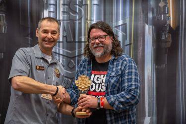 Judges Choice Best Pilsner: Lager: Kölsch Nightwatch Coffee Lager – Lighthouse Brewing, Victoria BC