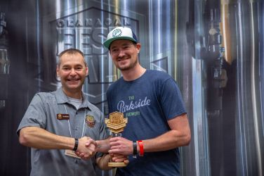Judges Choice Best Specialty IPA Dreamboat Hazy IPA – The Parkside Brewery, Port Moody BC