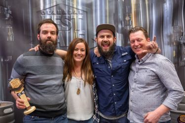 People's Choice Best Beer What The Fog, Hazy IPA Slackwater Brewing, Penticton BC
