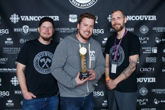 Best In Show Aka Beer Of The Year Twin City Brewing