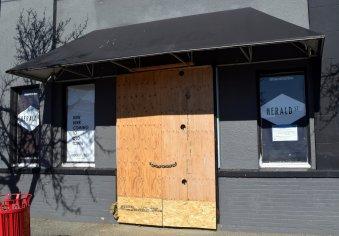 Front facade not yet begun