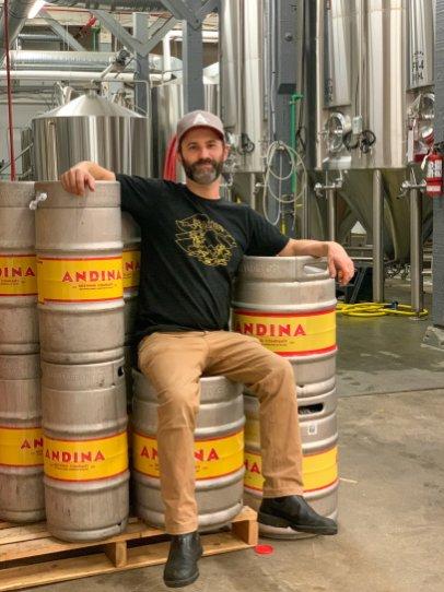 Head Brewer Ben Greenberg