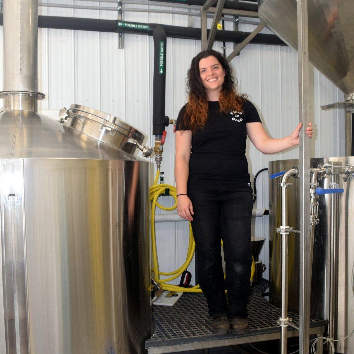 Brewery tour Karen Cheshire