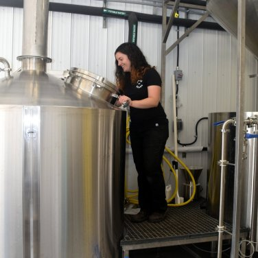 In the brewhouse