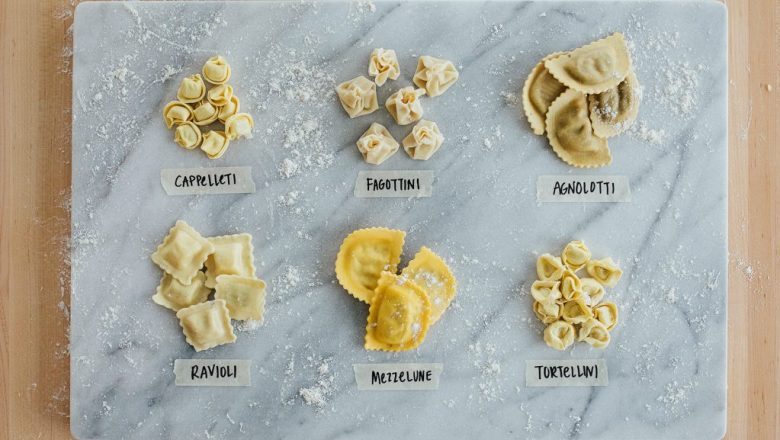 types of stuffed pastas with pictures