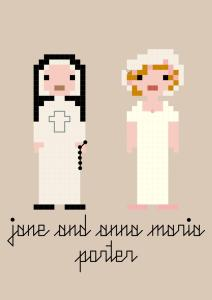 THE SISTERS: Jane and Anna Maria Porter — What'shername
