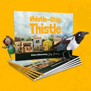 Whistle stop thistle children's book