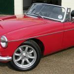 A 1960s sports car