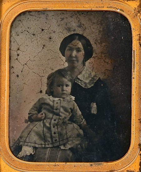 Mary Donelson Wilcox and child