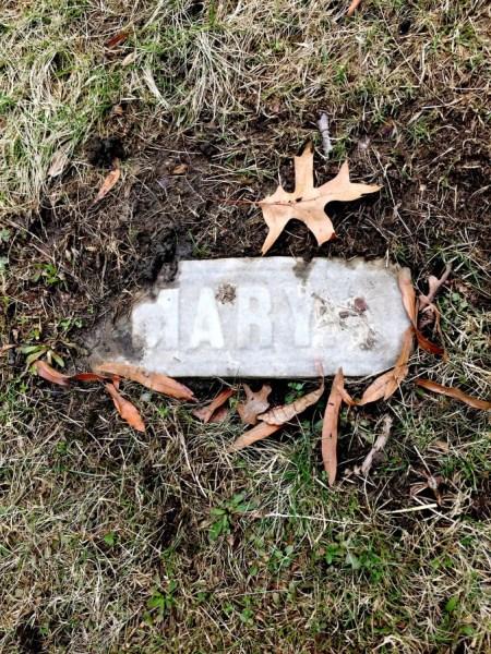 Mary Pattison Irwin's gravestone