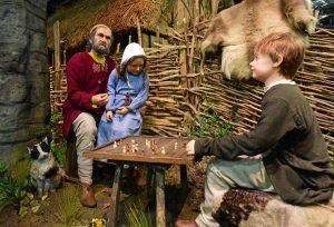 Mannequins show the lives of the 10th century Viking residents of Jorvik
