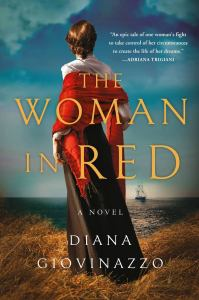 The Woman in Red cover - novel on the life of Anita Garibaldi