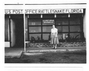 Post Office in Rattlesnake, Florida