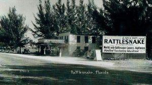 Rattlesnake cannery in Rattlesnake Florida