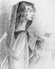 AnneBronte sketch by Charlotte 1834