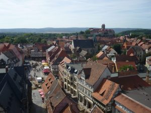 Old Town Quedlinburg, where Queen Matilda did her good works