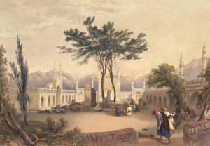 The shrine and Sufi Center of Hazratji Qandahari