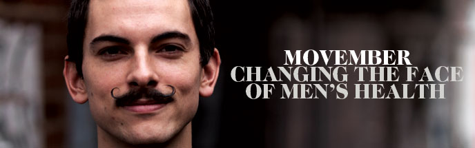 Movember: changing the face of mens health