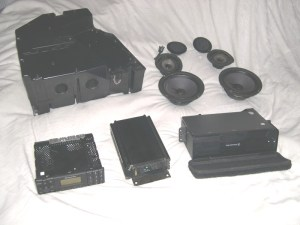 Bose Mercedes R129 Sound System Components  What's Inside