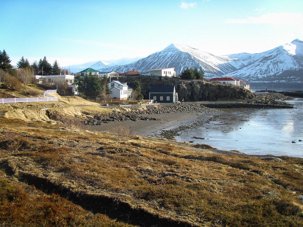 A Day in Borgarnes, Iceland