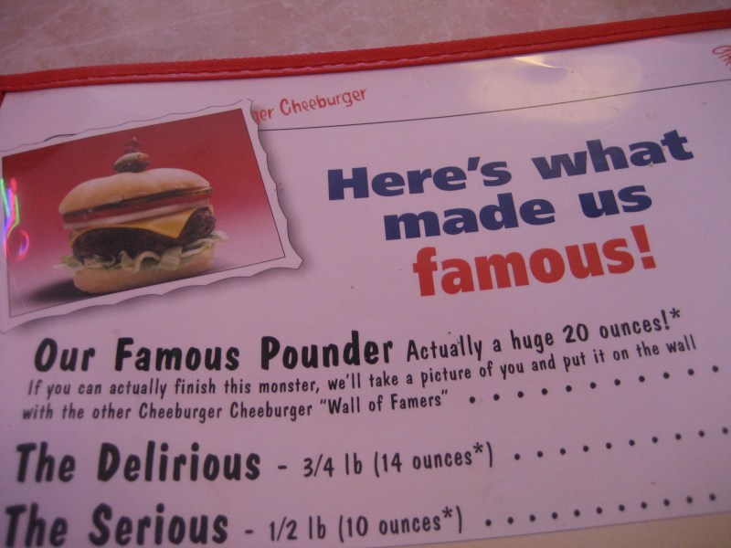 Why is it a pounder when 20 oz is more than a pound?
