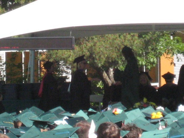 Rachel's Graduation from the U of O