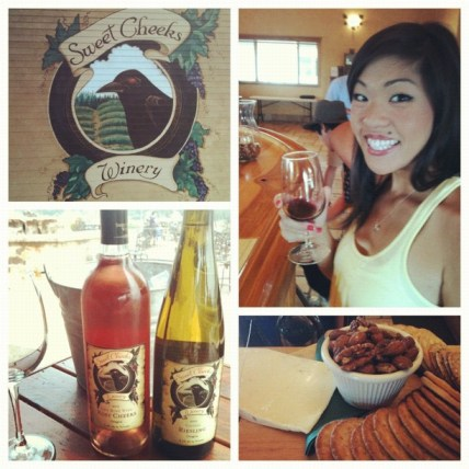 30th birthday celebration at Sweet Cheeks Winery in Eugene.