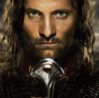 Aragorn, as portrayed by Viggo Mortenson
